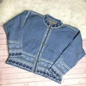 Dale of Norway Casual Classic Cardigan Sweater L